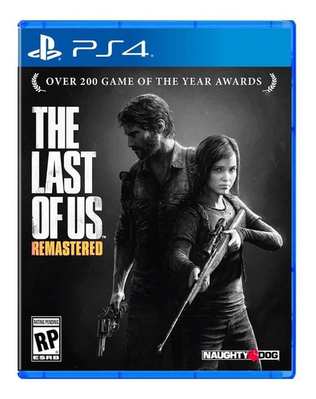 The Last Of Us Remastered Ps4 Midia Fisica Playstation 4