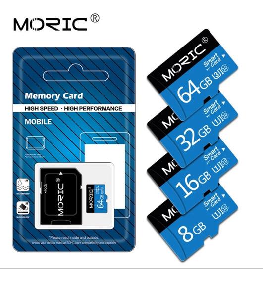 Cartão De Memória 32gb Classe 10 Com Adaptador