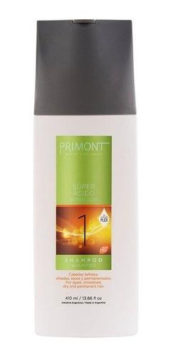Shampoo Super Acido Primont X 410ml Nivelador Ph