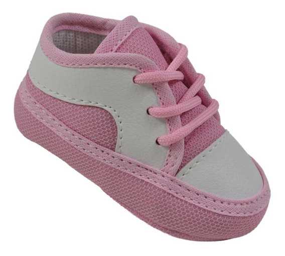 Sapatinho Tênis Bebe Baby Infantil Menina Pingo Doce R.6912r