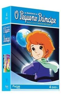 Box As Aventuras De O Pequeno Príncipe - 4 Dvds