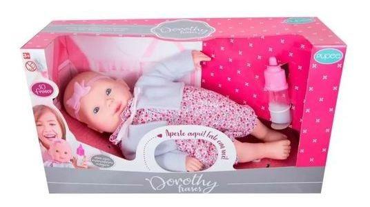 Boneca Dorothy Fala 10 Frases - Pupee