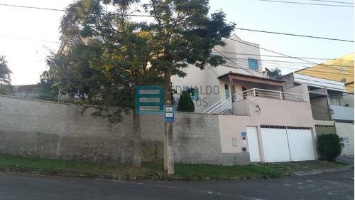 Imagem 1 de 15 de Edinaldo Santos -fontesville Ii, Casa Duplex 3/4 E 2 Salas Em Terreno 300m2 - 994