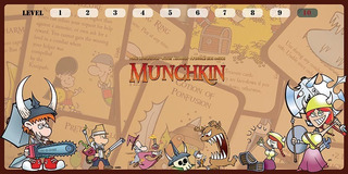 Playmat Tabuleiro Campo De Batalha Tapete Munchkin Card Game