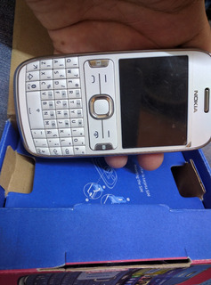 Nokia 302 Color Blanco Nuevo. $1299 Con Envío.