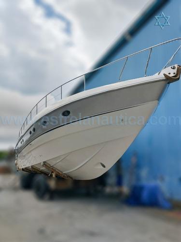 Lancha Pershing 52 Barco Iate N Ferretti Azimut Cimitarra