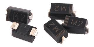 Pack De 20 Diodo Smd 1n4002 1a 50v Do-214ac