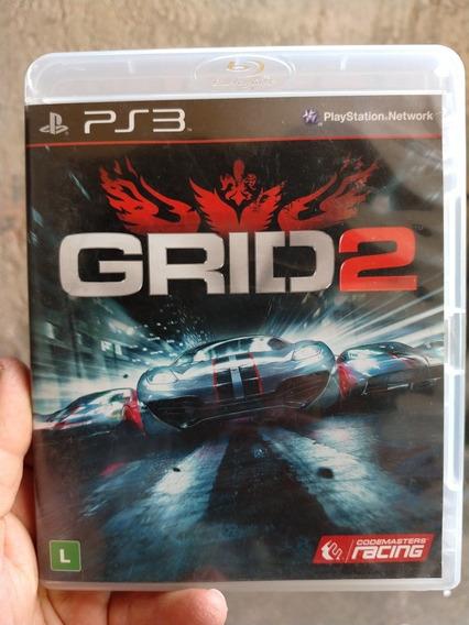 Grid 2 Para Ps3 Semi-novo Original Mídia Física Sony