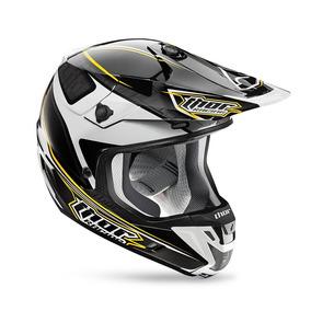 Capacete Motocross Thor Verge Amp Preto - Vários Tamanhos