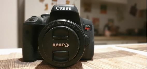 Câmera Canon Eos Rebel T6i Kit Ef-s 18-55 Is Stm