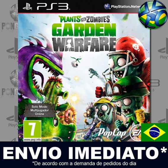 Plants Vs Zombies Garden Warfare Ps3 Psn Português Promoção