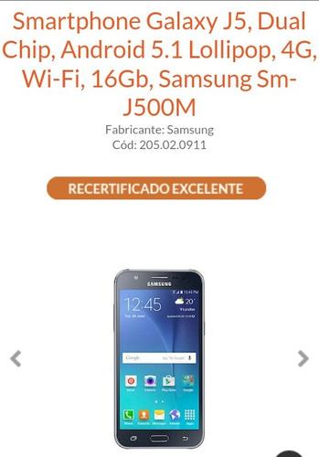 Smartphone J5 Recertificado