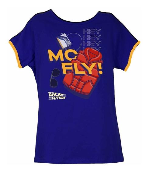 Remera, Universal, Volver Al Futuro Mc Fly Dama Original