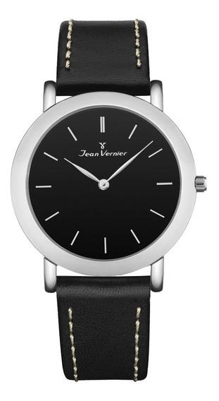 Relógio Slim Jean Vernier Jv13653 Preto Extra Chato