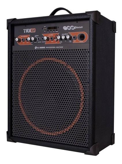 Caixa Amplificada Ll Áudio Multiuso Trx12 Ll Áudio Bivolt