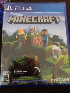 Minecraft Starter Pack Nuevo Sellado Ps4 Playstation