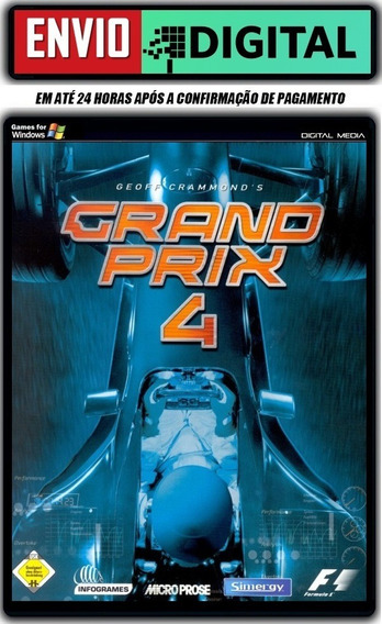 Grand Prix 4 - Geoff Crammond