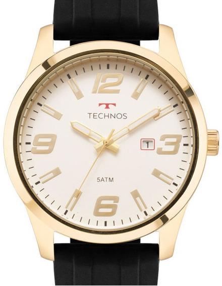 Relógio Technos Masculino Racer Dourado - 2115mom/8b