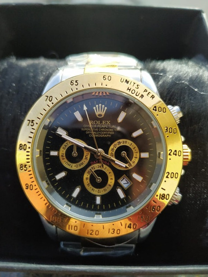 Relógio Rolex Pulseira De Couro