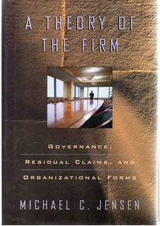 A1 - Michael C. Jensen - A Theory Of The Firm, Libro