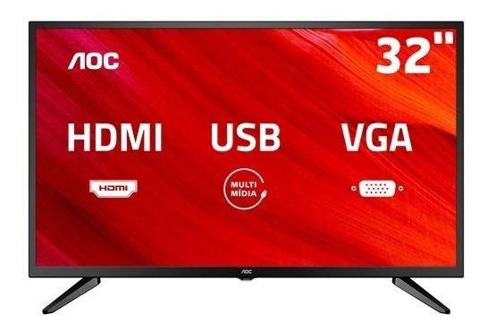 Tv Led Smart 32 Aoc Hd Le32m147 Com Conv. Digital Integrado