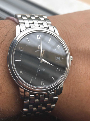 Relógio Omega De Ville Prestige - Ultra-fino - Todo Aço!