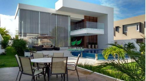 Casa À Venda, 420 M² Por R$ 2.950.000,00 - Busca Vida - Camaçari/ba - Ca2669