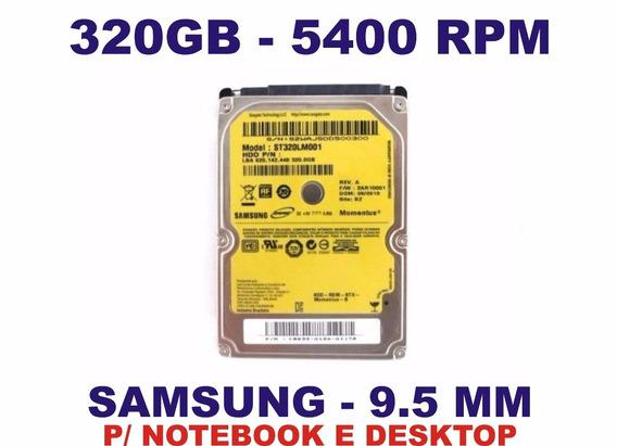Hd Notebook 320gb Samsung Ou Wd