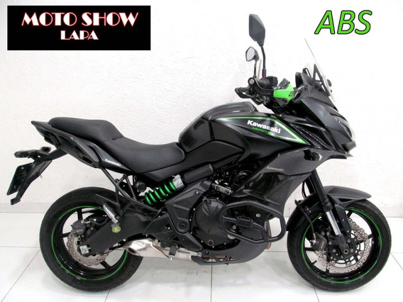 Kawasaki Versys 650 Abs 2017/2018 Preta