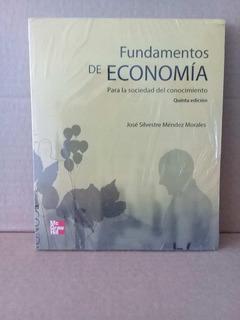 Libro Fundamentos De La Economia *sk