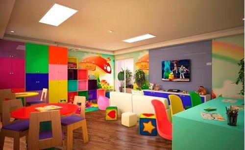 Apartamento Em Parque São Vicente, São Vicente/sp De 46m² 2 Quartos À Venda Por R$ 207.000,00 - Ap707610