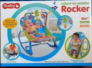 Silla Mecedora Musical Rocker Para Bebe