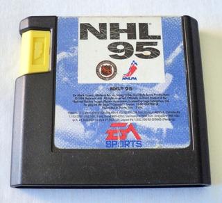 Nhl 95 Cartucho Para Sega Genesis Electronic Arts