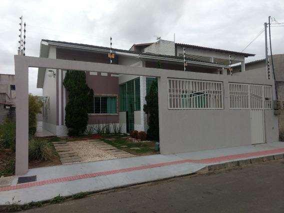 Linda Casa Com 04 Quartos Escriturada - Planicie Da Serra