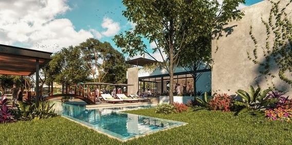 Casa En Venta En Mérida- Privada Amidanah Mod D Casa De Una Planta- Temozón Norte- Mayo Paneles Solares De Regalo