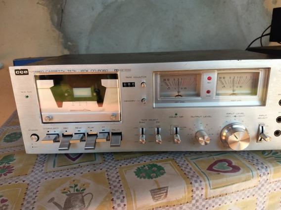 Tape Deck Cd 6060 Cce N Gradiente Polyvox Sony Sharp