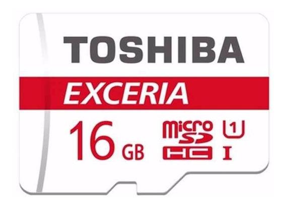 Toshiba Excesa Microsdhc 16gb Uhs-1 48mb