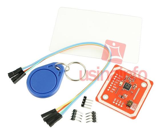 Kit Leitor Rfid Nfc + Tags Rfid Para Arduino
