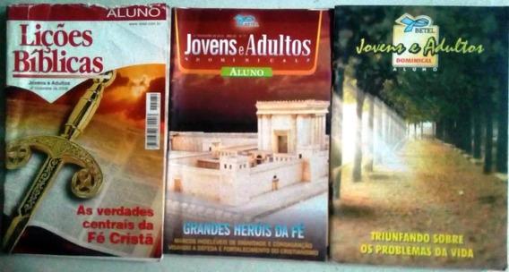 Lote 3 Revistas Estudo Bíblico Betel