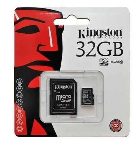 Imagen 1 de 3 de Tarjeta Memoria Micro Sd Kingston 32gb Clase 10