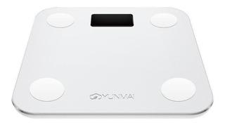 Balança corporal digital Yunmai Mini branca