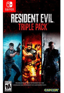 Resident Evil Triple Pack Swtich