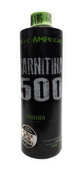 L-carnitina Liquida 1500 Carnitina Puro Campeon Envío Full
