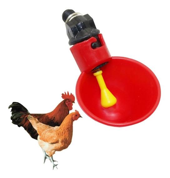 05 Bebedouro Automático Copinho Para Aves,galinhas,codornas