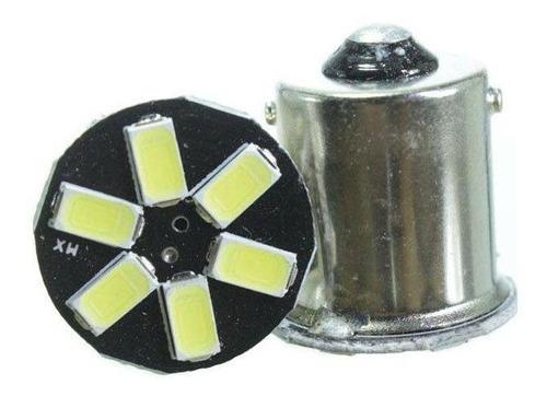 Imagem 1 de 1 de Lâmpada Led 67 12v 1 Polo 6smd5730 Flash Branca