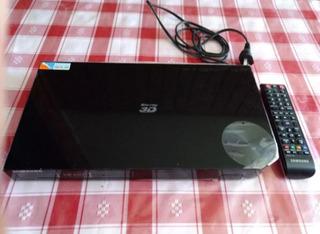 Reproductor Samsung Blu-ray 3d Con Control Remoto