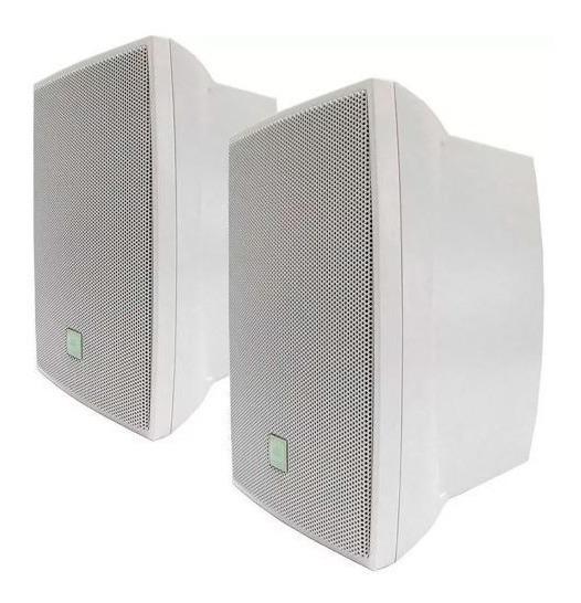 Caixa Som Ambiente Jbl Selenium C521 Par C521b 80w Branco