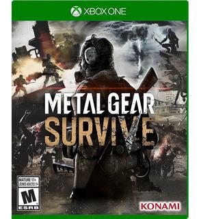 Xbox One Juego Metal Gear Survive - Envío Gratis