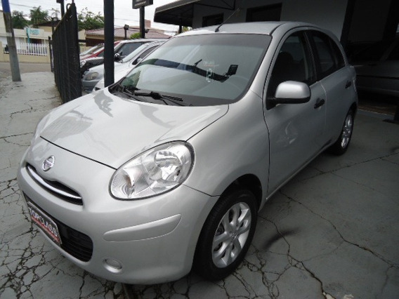 Nissan March 1.6 Sv 4p Ano 2012 Prata