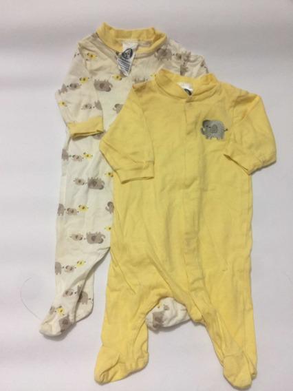 Bodys Gerber Para Recién Nacidos Amarillo 0 A 3 Meses